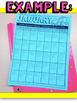 Kindergarten Homework Calendars