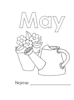 Monthly Kindergarten Journals