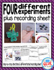 Monthly Kindergarten Science Experiments Bundle {Growing Bundle}
