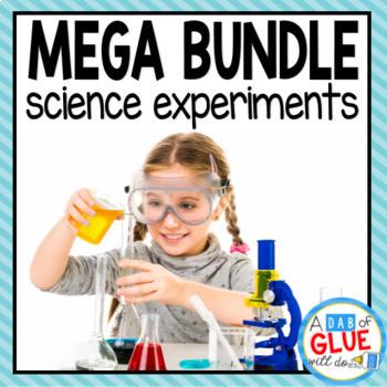 Monthly Kindergarten Science Experiments Bundle