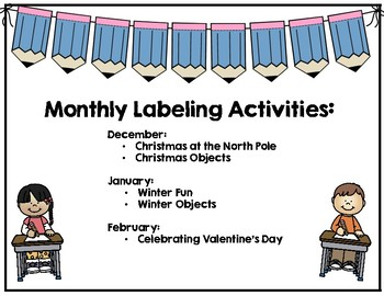 Monthly Labeling--Winter