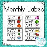 Monthly Labels