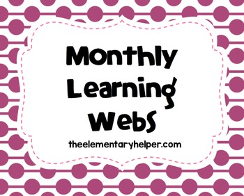 Monthly Learning Webs