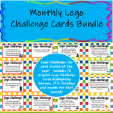 Monthly Lego Challenge Cards Bundle (12 Months)