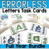 Monthly Letters Errorless Task Boxes