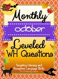Monthly Leveled WH Questions - October
