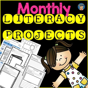 Monthly Literacy Projects