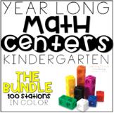 Monthly MATH ~ Kindergarten GROWING BUNDLE