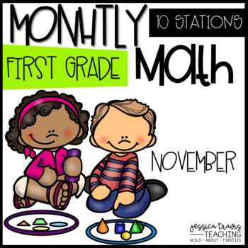 Monthly Math - 1st Grade - November