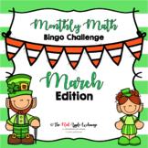 Monthly Math Bingo Challenge  **March Edition**