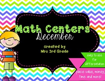 Monthly Math Centers - December