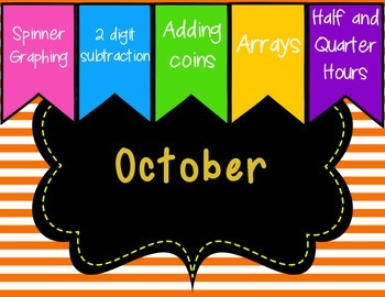 Monthly Math Centers - October