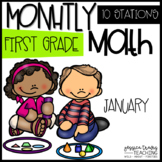 Monthly Math {JANUARY} ~ 1st Grade