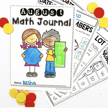 Math Journal BUNDLE (2nd Grade)