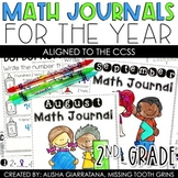 Math Journal BUNDLE (2nd Grade) Spiral Math Review