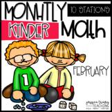 Monthly Math {KINDERGARTEN} ~ February