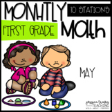 Monthly Math - MAY - First Grade