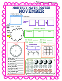Monthly Math Poster (November)