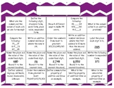 Monthly Math Prompt Calendars (BLANK MONTHS)! Aligned to G