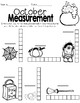 Monthly Measurement Worksheets