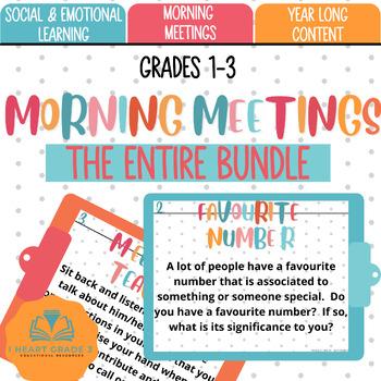 Morning Meetings:  The Complete Bundle
