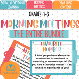 Morning Meetings Complete BUNDLE
