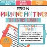 Morning Meetings Complete BUNDLE