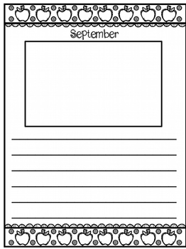 Monthly Memory Book