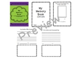 Monthly Memory Book Keepsake