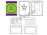 Monthly Memory Book Keepsake