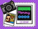 Monthly Memory Book - October and September