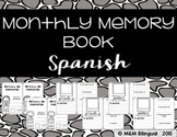 Monthly Memory Book {SPANISH}