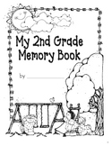 Monthly Memory Book (Writing Journal / Yearbook for 1st, 2