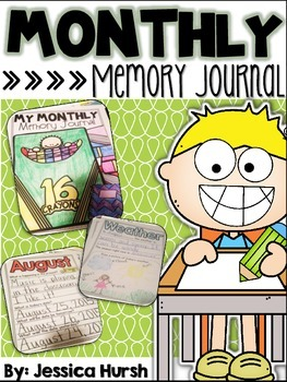 Monthly Memory Journal