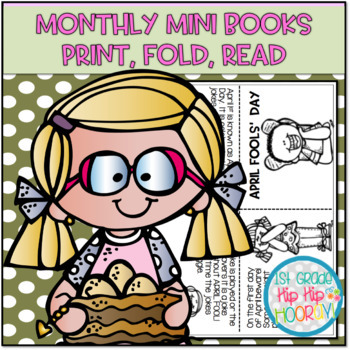 Monthly Mini Book Bundle...Print, Fold, Read!