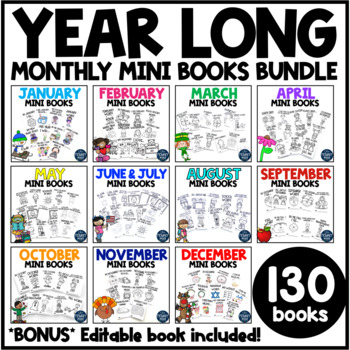 Monthly Mini-Books GROWING BUNDLE
