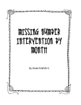 Monthly Missing Number Interventions #'s 1-20