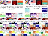 Monthly Morning Calendars SMART