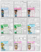 3rd Grade Monthly NO PREP Packets THE BUNDLE