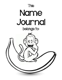 Monthly Name Journal