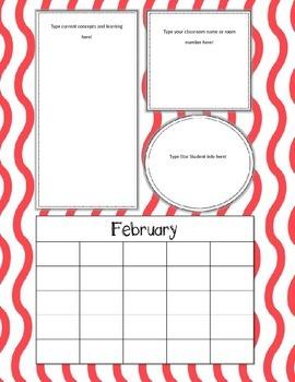 Monthly Newsletter Bundle - Editable