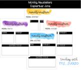 Monthly Newsletter (September-June)