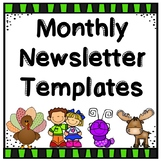 Newsletter - Monthly Template