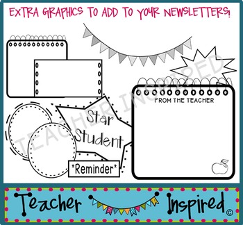 Monthly Newsletter Templates - Editable