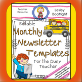 Newsletter - Editable