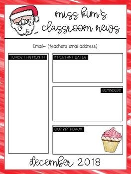 Monthly Newsletter [editable]