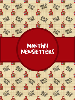Monthly Newsletter for Parents {EDITABLE}