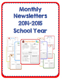 Monthly Newsletters (2014-2015)