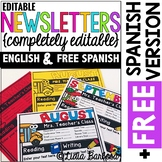 Completely Editable Monthly Newsletter Templates {ENGLISH}