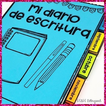 Monthly Notebook Tabs {SPANISH}